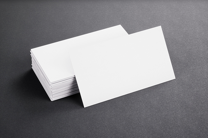 Blank Template White Business Cards On Black P2W77WC 010eaa7f7f4be1cd88e762c6ebc22123